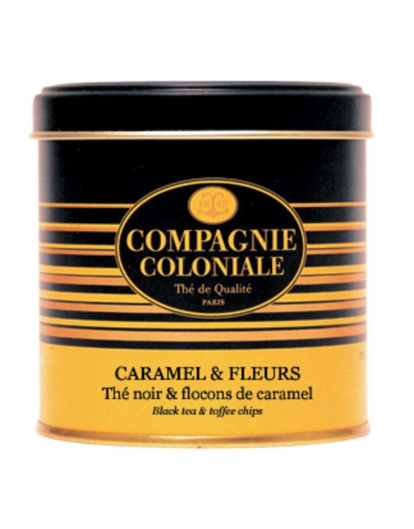 The Noir Aromatise Caramel Fleurs Origine Chine