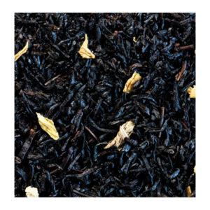 The Noir Aromatise Caramel Fleurs Origine Chine Detail