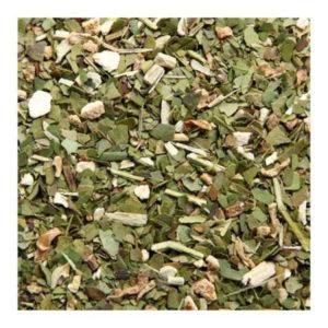 The Vert Aromatise Mate Citron Vert Detail