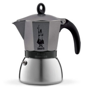Bialetti Cafetiere Italienne Moka Induction Anthracite 6 Tasse