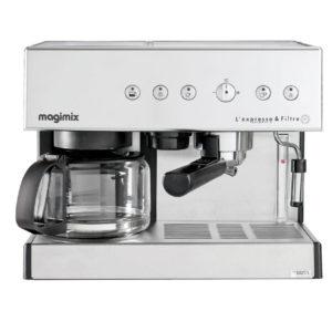 Cafetiere Expresso Magimix 11423 Combine Avec Cafetiere