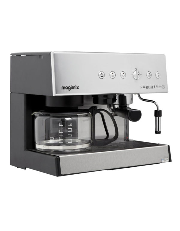 Cafetiere Expresso Magimix 11423 Combine Avec Cafetiere Lateral