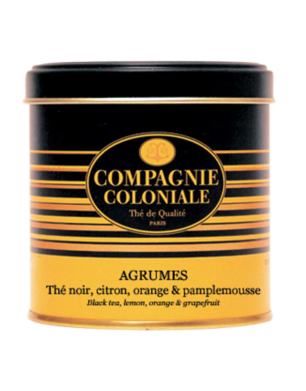 The Noir Aromatise Agrumes Origine Chine