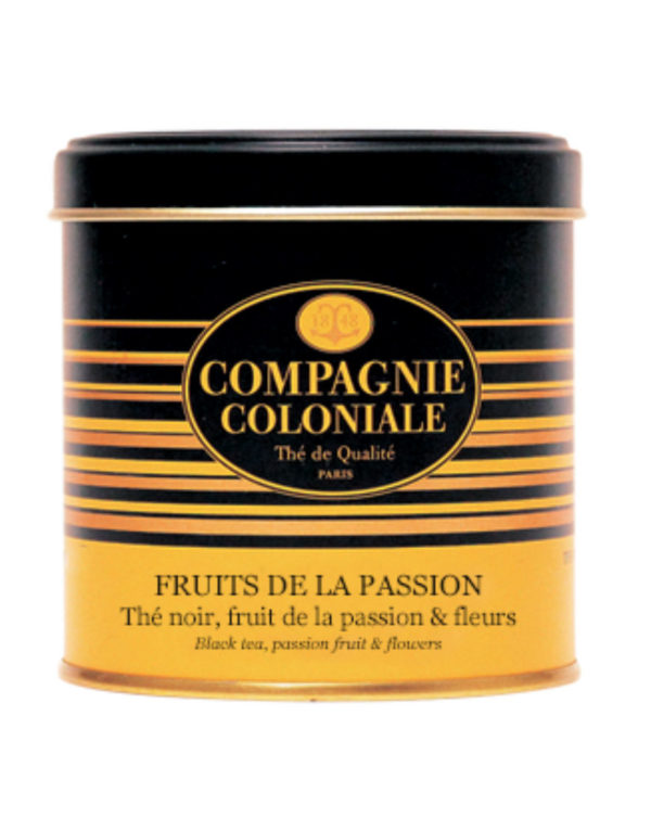 The Noir Aromatise Fruits De La Passion Origine Chine
