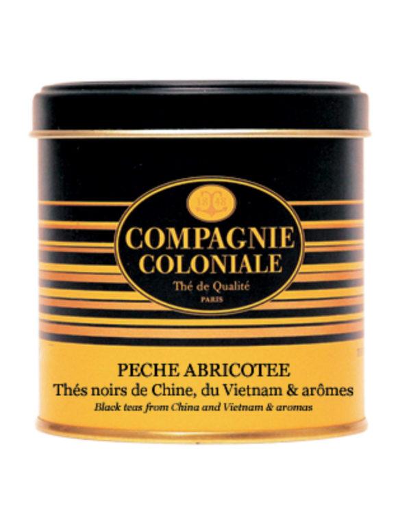 The Noir Aromatise Peche Abricotee Origine Chine