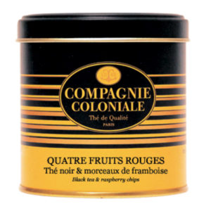 The Noir Aromatise Quatre Fruits Rouges Origine Chine