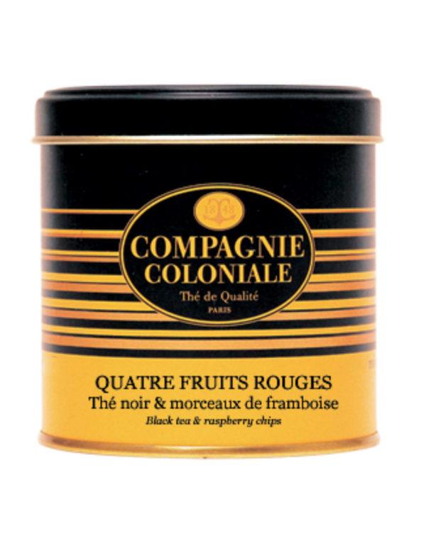 The Noir Aromatise Quatre Fruits Rouges Origine Chine