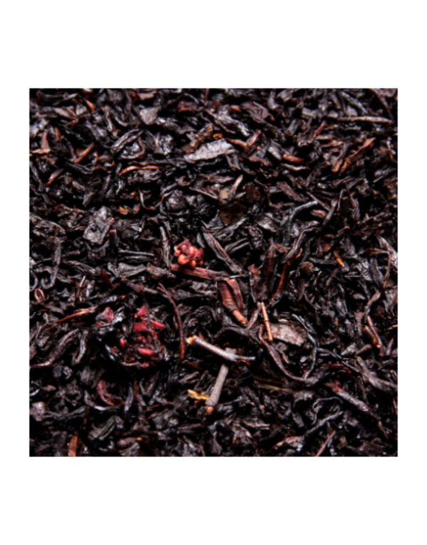 The Noir Aromatise Quatre Fruits Rouges Origine Chine Detail