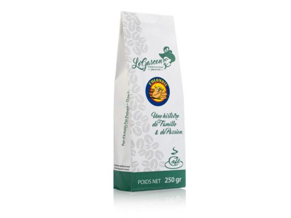 Gascon 250g café Origine Colombie
